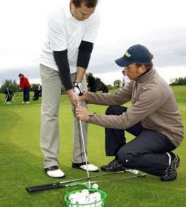 Golftræner -ledelse